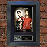 Supernatural Signed Autograph Mounted Photo Repro A4 Print 136 (Black frame)