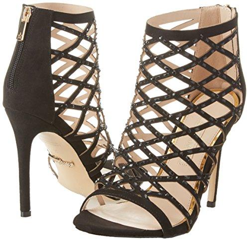 De Mujer 112131028mf Tobillo Zapatos Correa Tacon Y Con Para Negro Primadonna nYHdCfqq