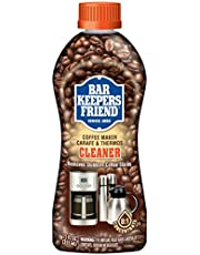 Bar Keepers Friend Coffee Maker Cleaner (12 oz) - Removes Oily Residue, Tannins and Stains - For Single-Cup and Automatic Drip Coffee Makers and Espresso Machines