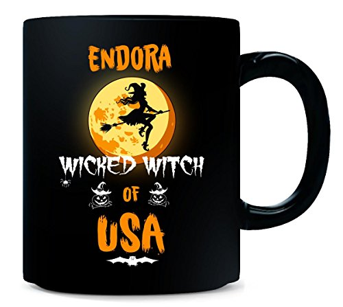 Endora Wicked Witch Of Usa. Halloween Gift - Mug]()