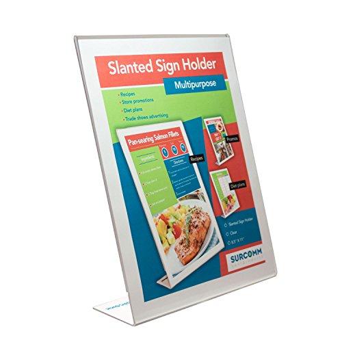 acrylic flyer display stand - 1