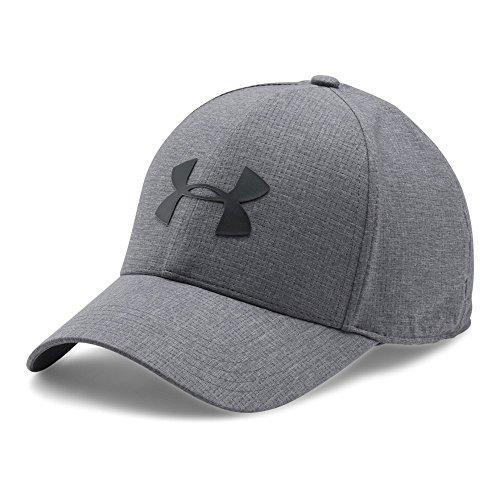 Under Armour Men's CoolSwitch ArmourVent 2.0 Cap, Graphite/Black, Large/X-Large