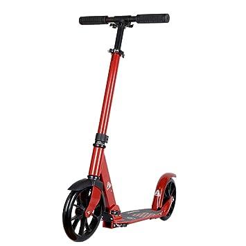 Patinete- Niños Y Adultos Kick Scooter Plegable No Eléctrico ...