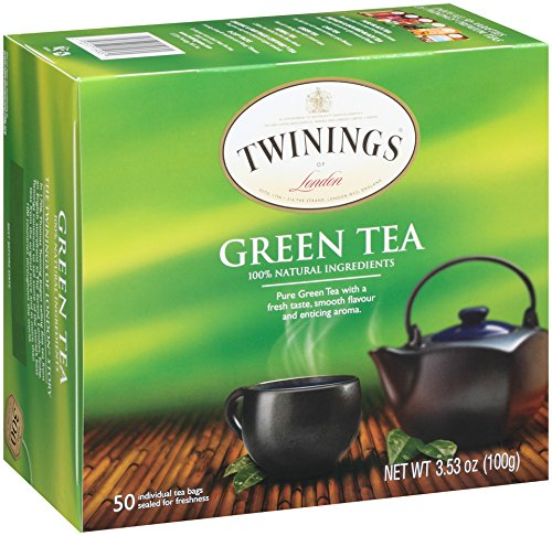 Twinings of London Pure Green Tea Bags, 50 Count (Pack of 6) by Twinings (Image #2)