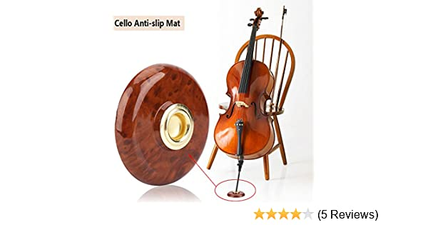 Cello Endpin Anchor Rest Non-Slip Endpin Stopper Holder Stand Strap End Pin Rest Protector Instrument Accessory #A