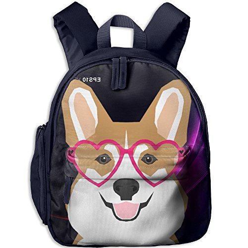 Coffee Pot Costume (Welsh Corgi Kids School Navy Daypack)