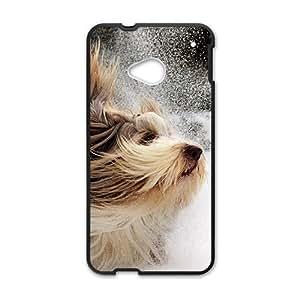 Beautiful winter scenery durable fashion phone case for HTC One M7 wangjiang maoyi