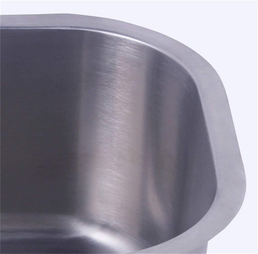 sans robinet /évier inox de cuisine /à un 1 bac en acier inoxydable 304 encastrable cuve pour cuisine