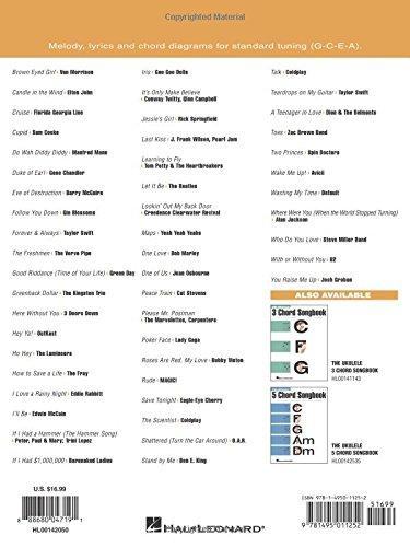 Amazon The Ukulele 4 Chord Songbook 9781495011252 Hal