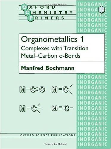 Complexes with Transition Metal-Carbon a-bonds Organometallics 1