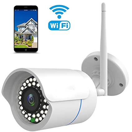Cámara IP 1080P huayuu Vigilancia 1080P HD WIFI Cámara IP para exterior resistente al agua wifi