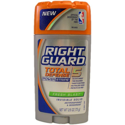 picture of Right Guard Deodorant Stick for Unisex, Fresh Blast Scent, 2.6 Ounce