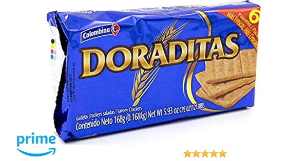 Amazon.com : Colombina Crakeñas Doraditas, 5.93 Ounce (Pack of 12) : Grocery & Gourmet Food