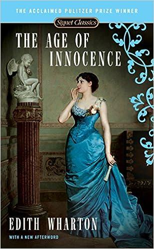 the age of innocence wharton edith barreca regina saunders judith p