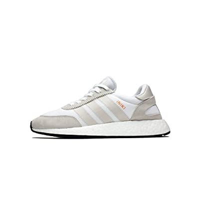 Iniki Runner Mens in White/Pearl Grey/Core Black by Adidas, 7.5