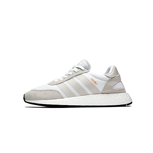 adidas mens iniki runner bianco / nylon moda.