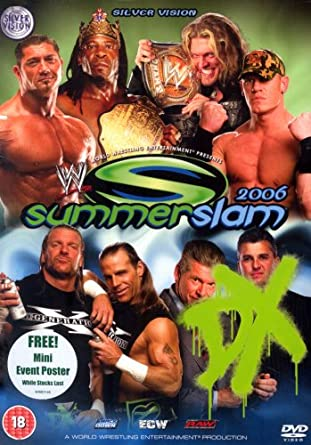 WWE - Summerslam 2006 [Plus Poster] [Reino Unido] [DVD]