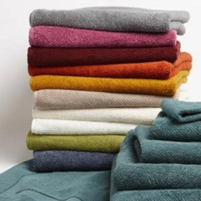 Coyuchi Air Weight Organic Cotton Towel Set in Slate