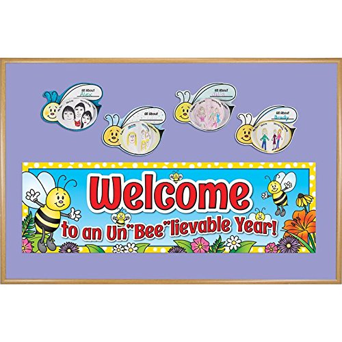 3d Welcome Banner - ReadyToDecorate 3D Welcome to an UnBeelievable Year Bulletin Board Set
