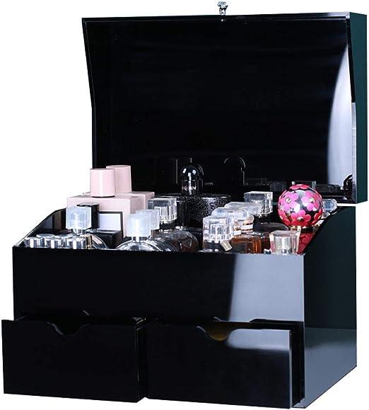 Organizador de maquillaje acrílico, caja de exhibición de perfumes ...