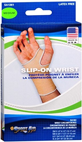 Sport Aid Slip-On Wrist Support MD 1 Each (Pack of 12) by SportAid