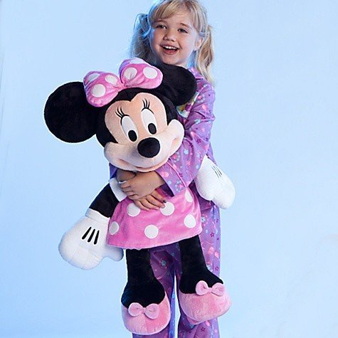 Minnie Mouse Plush - Disney Store Large/Jumbo 27 Minnie Mouse Plush Toy Stuffed Character Doll by Generic