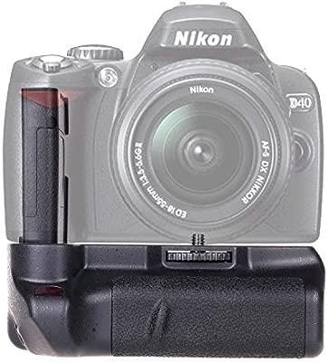Empuñadura para Nikon D40 D40X D60 D3000 D5000, BG-2A empuñadura de batería para Nikon D40 D40X D60 D3000 D5000