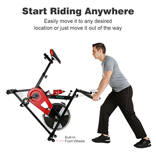 Exercise Bike In Water: Finether Exercise Bike, Indoor Chain Driven Cycling Bike