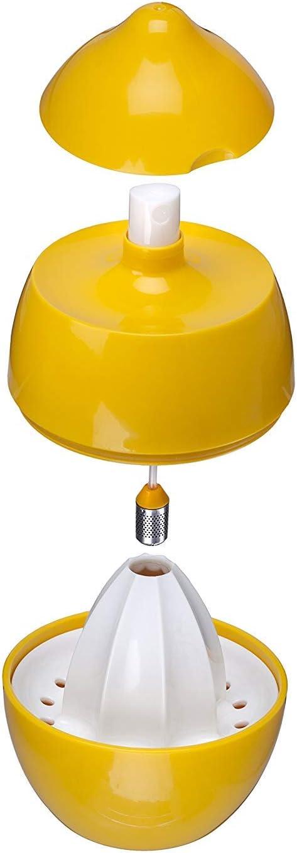 Joie Lemon Juicer with Sprayer, Yellow, 7.5 x 7.5 x 10.5 cm