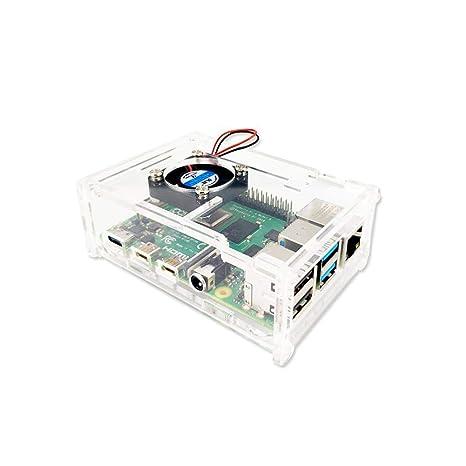 zhuyu Raspberry Pi 4B - Carcasa para Placa Base Raspberry Pi ...