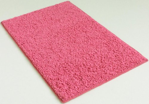 8'x10' Indoor Area Rug - Pink Diamond 37oz - plush textured carpet for residential or commercial use with Premium BOUND Polyester Edges.