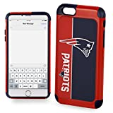 Forever Collectibles Iphone 6 / 6S Bold Series Dual Layered Case for NFL New England Patriots