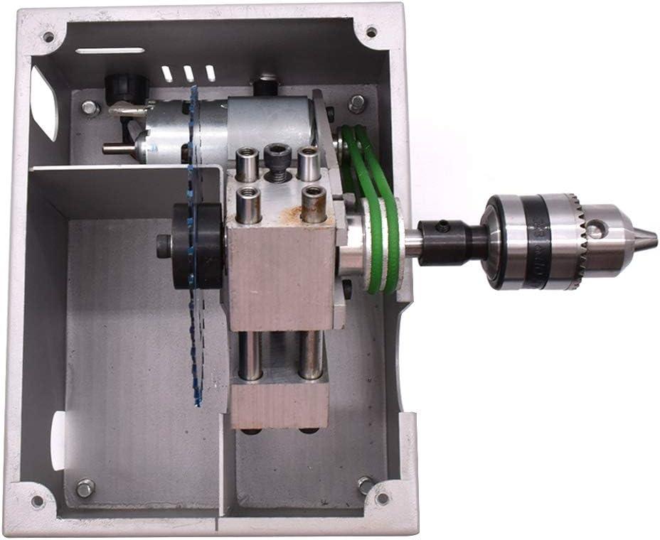 96W Mini tavolo visto fai da te//Tagliatrice del modello di falegnameria / Dimensioni tavolo 240 X 200 mm 26-29 MM Spessore di taglio //7000 rpm Sliver