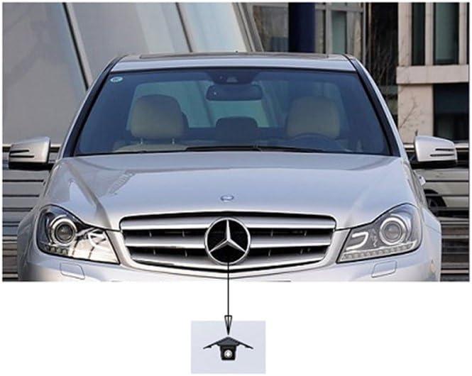 pour Benz Mercedes SLK350 200 CLS350 CLS300 Viano R500L R350L R350 R300L Sprinter Middle Misayaee voiture Front View cam/éra Logo Embarqu/é avant cam/éra Night Vision Parking /Étanche Wide Degree