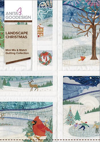 Anita Goodesign Embroidery Designs Landscape - Design Embroidery Block