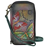 Anna By Anuschka Handpaint LR Phone Case and Wlt-1844-Bpd, Bpd-Butterfly Paradise