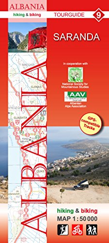 Download Albania Saranda Area 1:50 000 Hiking and Cycling Map HU pdf epub