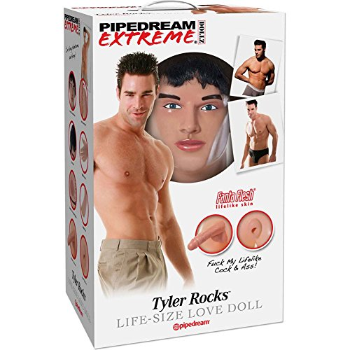Pipedream Products Extreme Dollz Tyler Rocks : Best Shemale Sex Toy