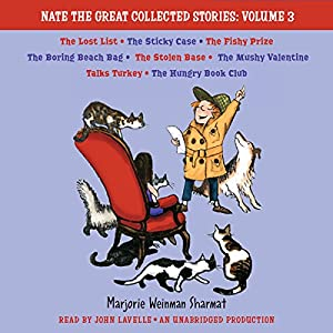 Nate the Great Collected Stories: Volume 3 Audiobook