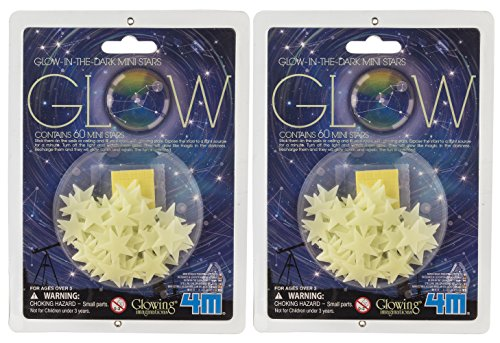Glow Dark Mini Stars Pack
