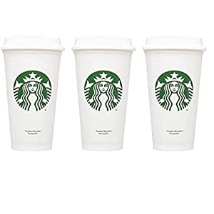 Starbucks Reusable Cup To Go Travel Coffee Tea Tumbler 16 Oz (Pack of 3)