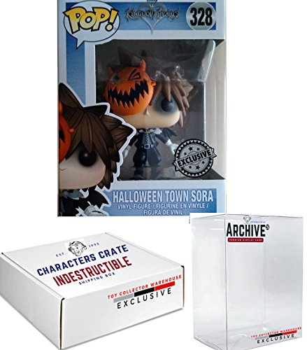 Funko Pop! Disney Kingdom Hearts Sora Halloween Town, Exclusive Vinyl Figure, Concierge Collectors -