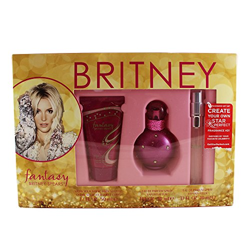 Britney Spears Fantasy 3 Piece Gift Set for Women