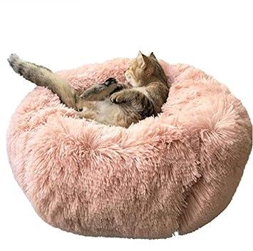 Amazon.com: Cama para perro y gato BinetGo, cojín de piel ...