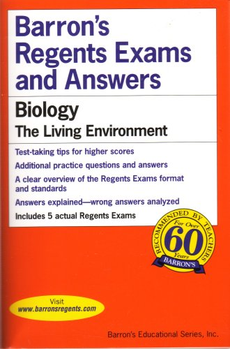 Barron's Biology - The Living Environment (Regents Exams & Answers)