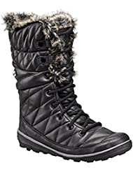 Columbia Womens Heavenly Omni-Heat Leather After Dark