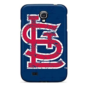 High Quality Cell-phone Hard Covers For Samsung Galaxy S4 (mBZ7409kkco) Customized Nice St. Louis Cardinals Series