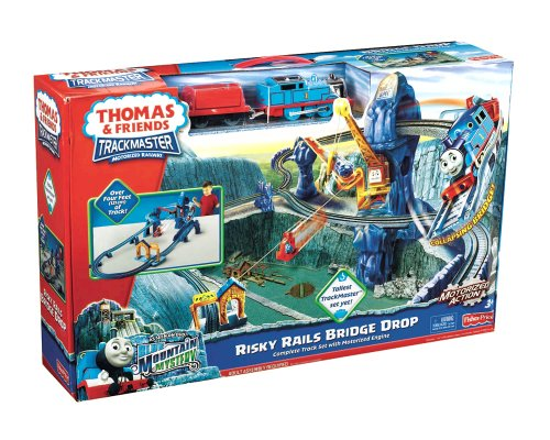 Amazon Thomas The Train Trackmaster Risky Rails Bridge Drop