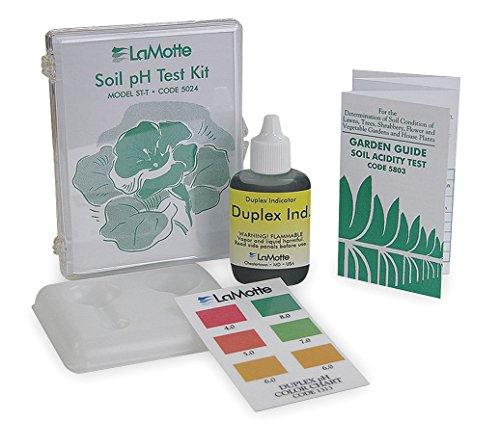 Lamotte 1332 Soil Ph Test Kit Color Chart Phenol Red Buy Online
