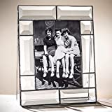 J Devlin 5x7 Picture Frame Beveled Glass Vertical Photo Frame Baby, Wedding or Graduation Gift Pic 112-57V